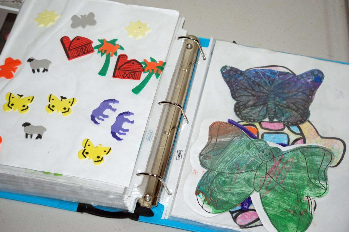 Keepsake Binder for Children's Work. Keepsake binder   avoid paper clutter   keepsakes   artwork   worksheet storage   art storage