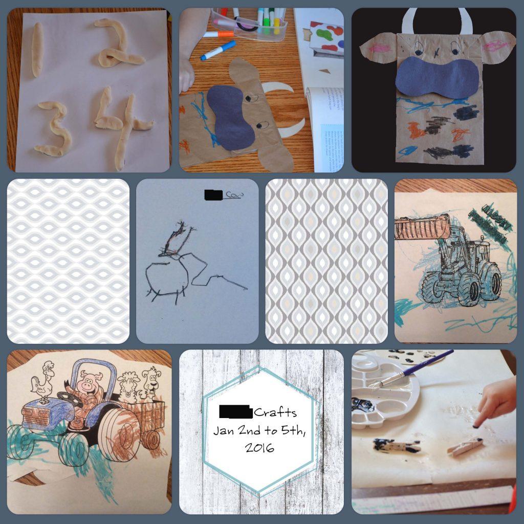 Project Life page of children's artwork. Project Life   Artwork   Scrapbooking   Homeschooling   Children's Artwork