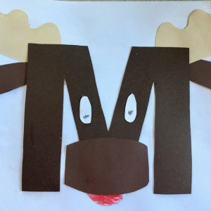 Reading Eggs with Letter Crafts – M and S