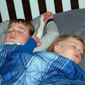 Bedtime Routine of a Mom with Boys