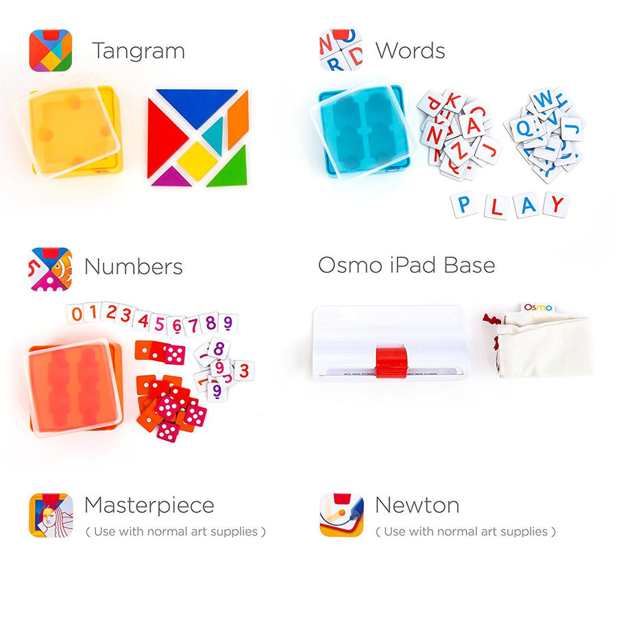Osmo - A wonderful learning tool. Kindergarten, Numbers, Reading, Learning Games, Tangram, Osmo, Masterpiece, Newton, Words