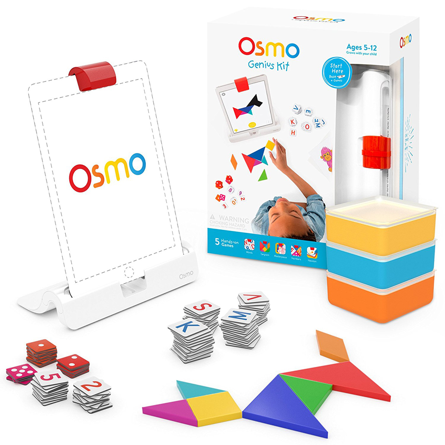 The Osmo is a wonderful and fun learning tool for children. #osmo #LearningGames #mathgames #spellinggames #homeschoolresource
