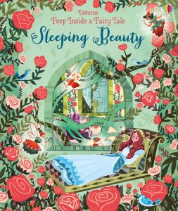 A favourite series with delicate cut-outs and holes to peep through about Sleeping Beauty.
