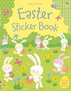 A great Easter sticker book. Easter, Easter Books, Usborne Books, Sticker Books, Easter Story, Chicks, Eggs, Bunny