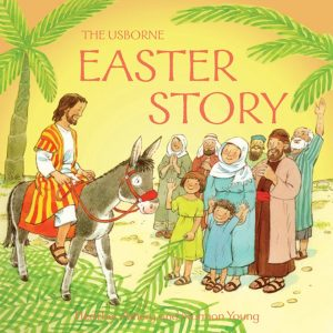 Looking for a great picture book about Easter? Easter, Easter Books, Usborne Books, Sticker Books, Easter Story, Chicks, Eggs, Bunny