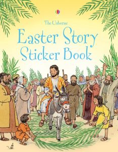 A fun sticker book about the Easter story. Easter, Easter Books, Usborne Books, Sticker Books, Easter Story, Chicks, Eggs, Bunny