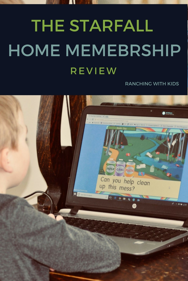 The Starfall Home Membership Review. learning games, phonics, kids educational games, phonics games, learn to read, homeschool, kindergarten, preschool, pre-k, kindergarten curriculum, pre-k curriculum