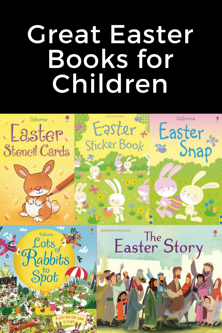 Here is a great post about great Easter books for children. Easter, Easter Books, Usborne Books, Sticker Books, Easter Story, Chicks, Eggs, Bunny