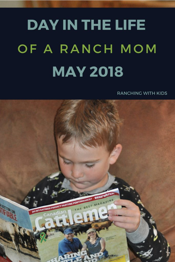 Day in the Life of a Ranch Mom in the Spring. The spring chore list seems to expand daily. #ranchmom #dayinthelife #lifeonaranch