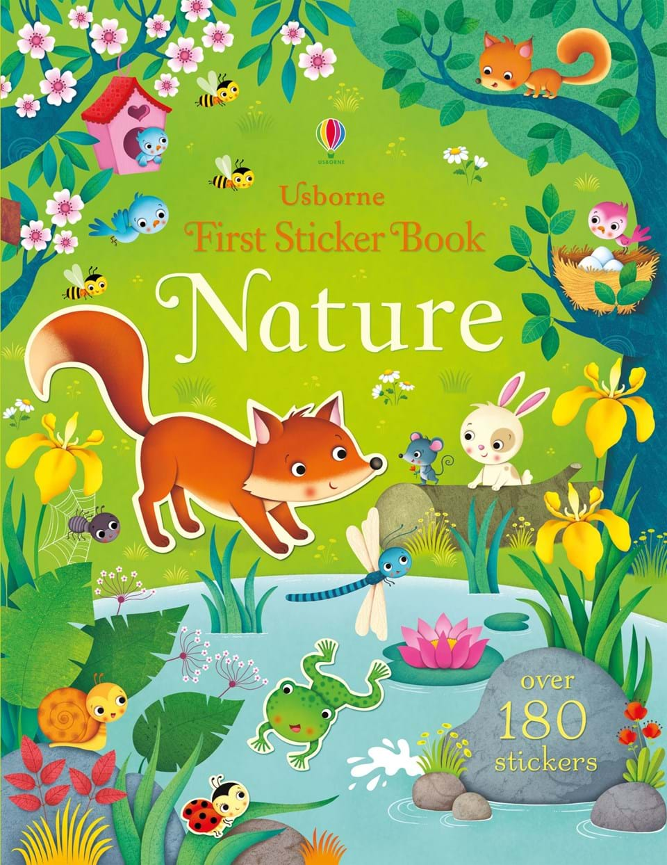 A great sticker book to help learn about nature
