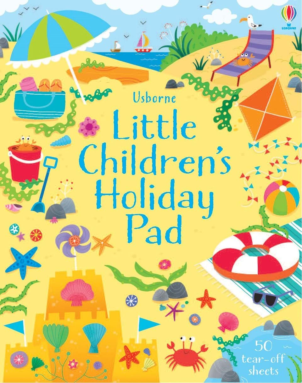 A fun activity book for children to take on holidays.