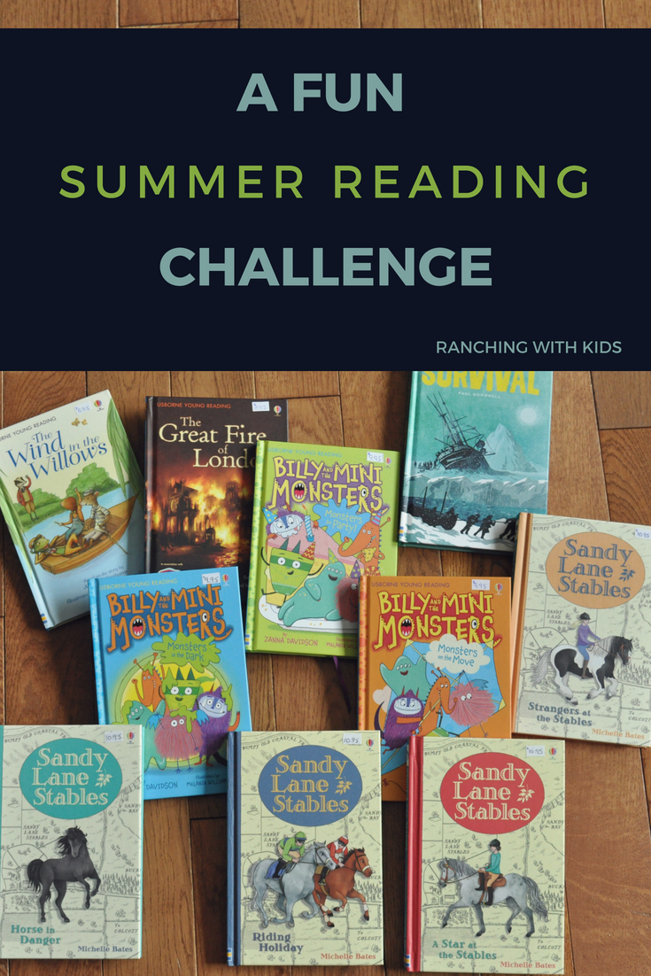 A Fun Summer Reading Challenge. Join me and encourage learning and reading this summer!
