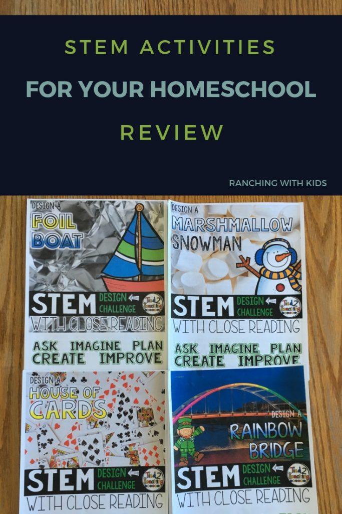 STEM Activities for Your Homeschool. #stem #stemchallenges #stemactivities