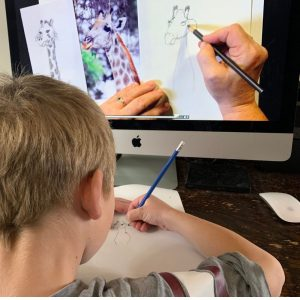 Learning to Draw with Creating a Masterpiece Drawing Program. #homeschoolart #homeschoolcurriculum #artcurriculum