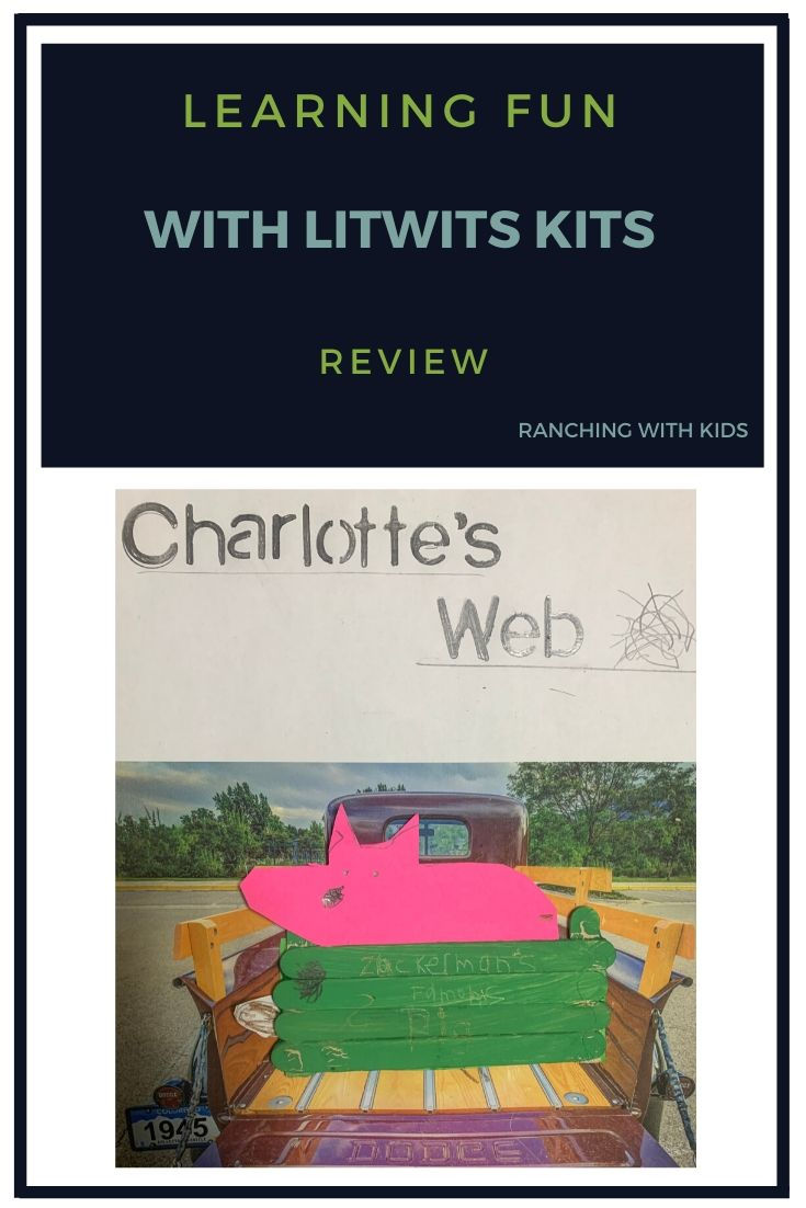 Learning Fun with LitWits Kits #homeschool #readforfunlearnforlife #litwits #litwitskits