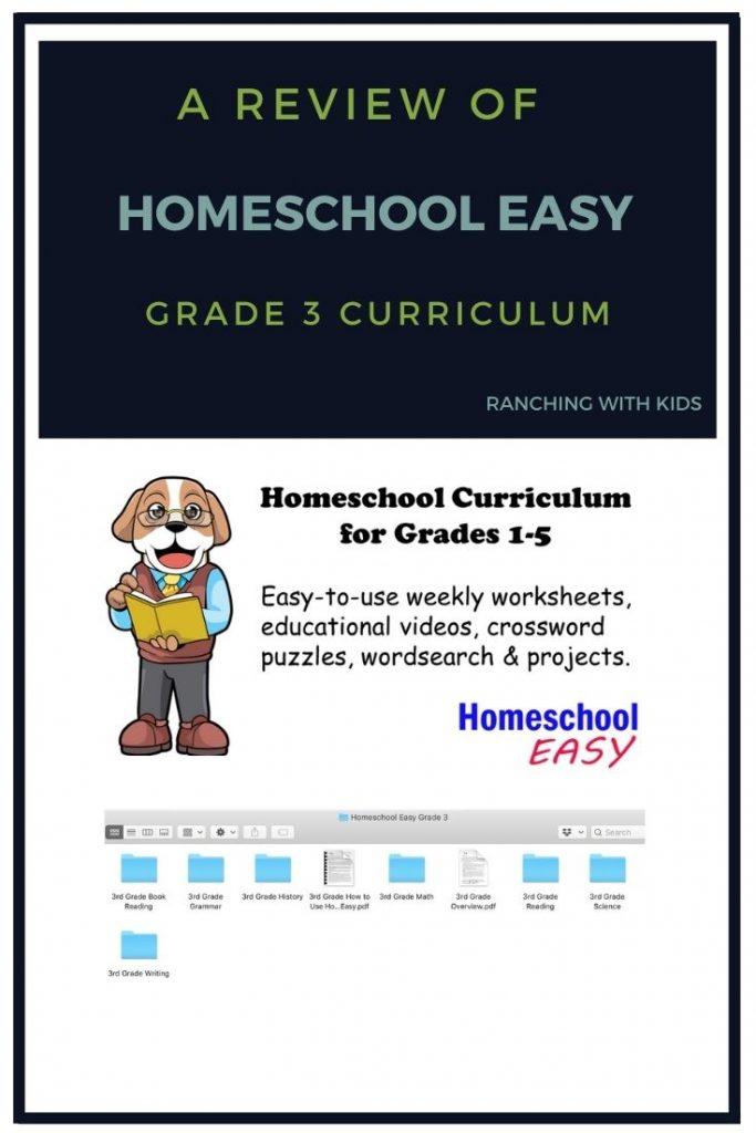Homeschool Easy. Entire Year Homeschool Curriculum. #homeschool #curriculum