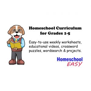 Homeschool Easy. Entire Year Homeschool Curriculum. #homeschool #curriculum