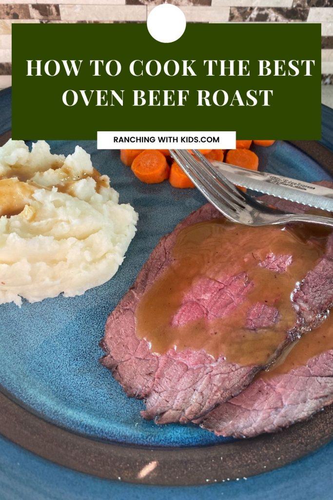 How to Cook the Best Oven Beef Roast. #beefroast #roast #ovenroast